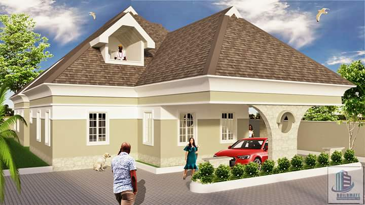 4 Bedroom Bungalow With Pent House Structurecity E Construction